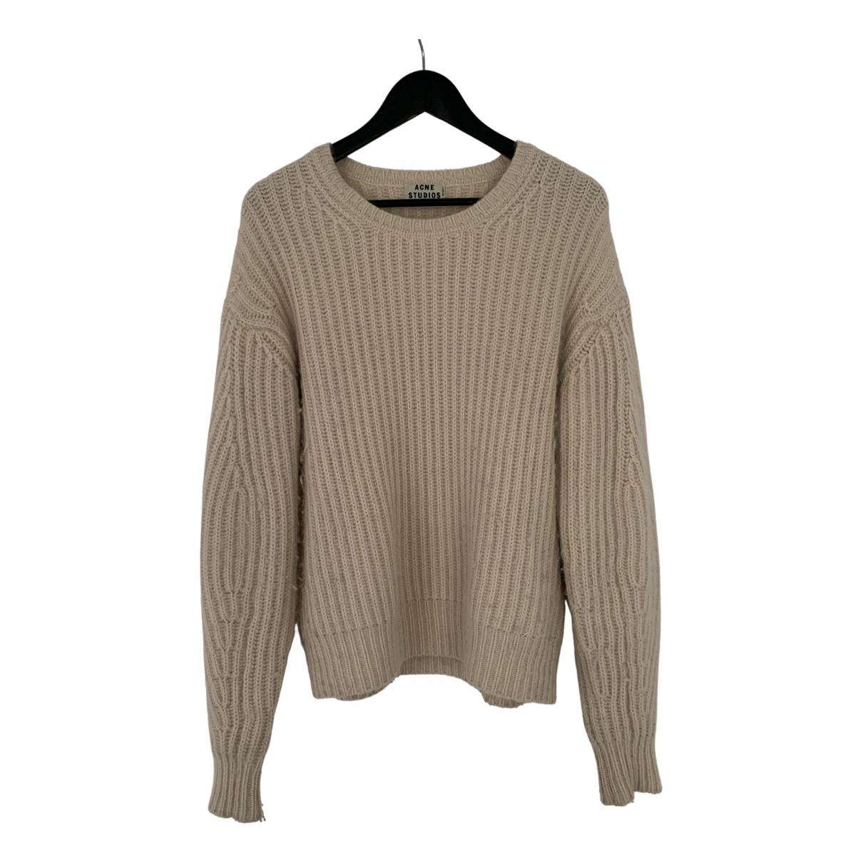 Acne Studios - Pull   pour femme en laine - rose
