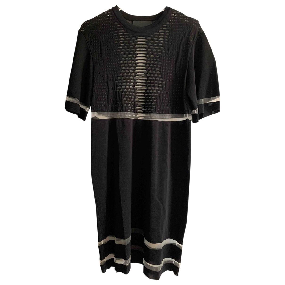 Alexander Wang Pour H&m \N Kleid in  Schwarz Viskose