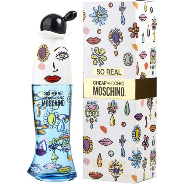 Cheap & Chic So Real - Moschino Eau de Toilette Spray 100 ml