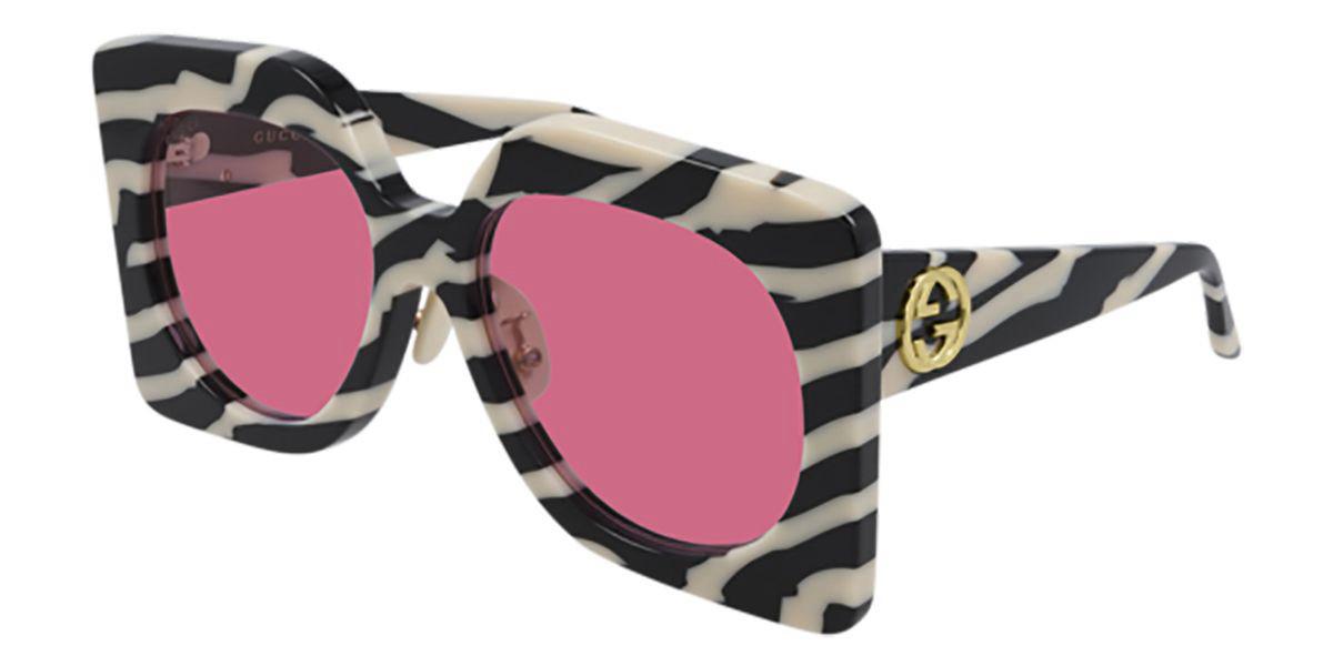 Gucci GG0784S 003 Women's Sunglasses Black Size 62 - Free RX Lenses