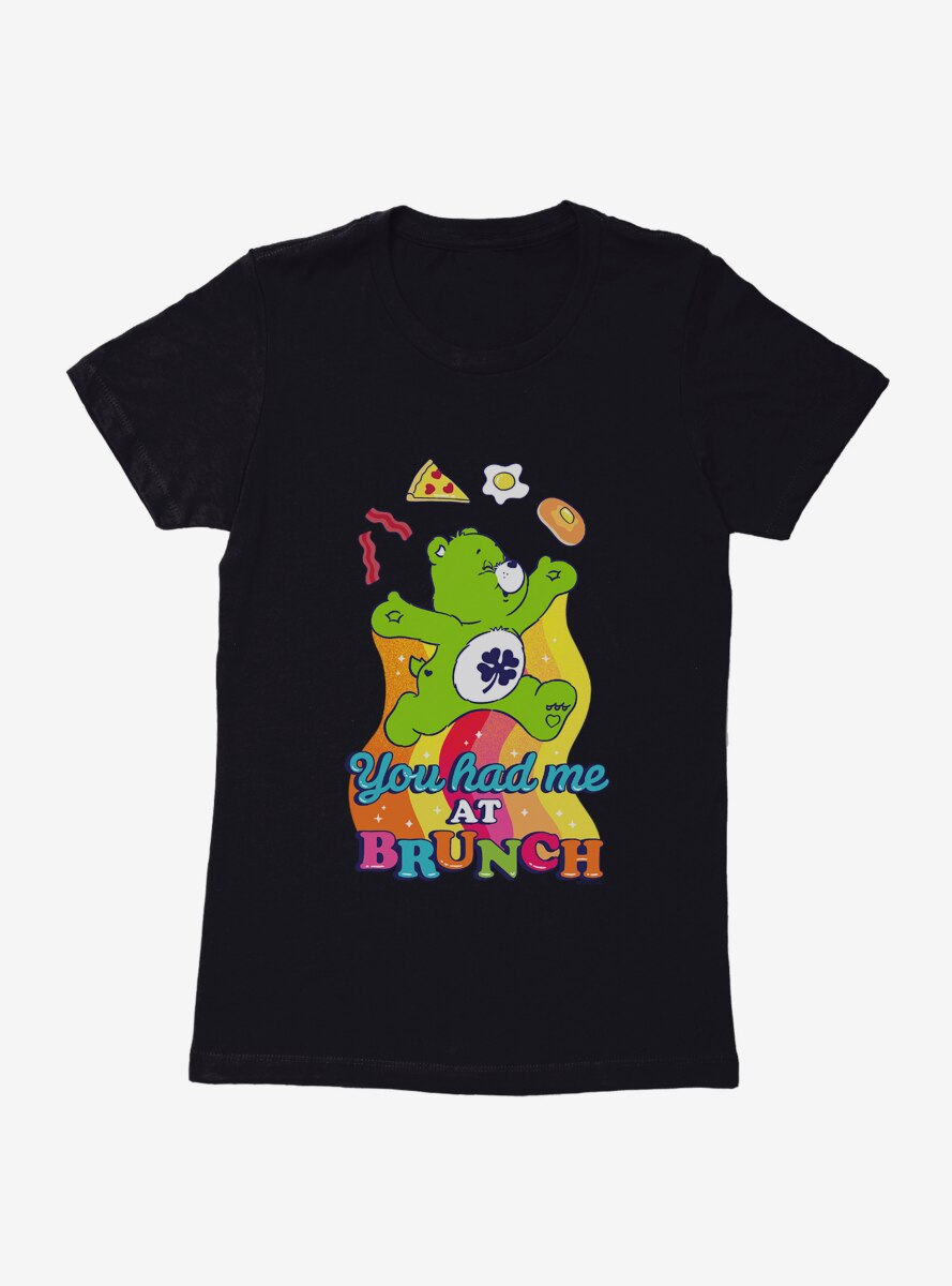 Care Bears Had Me At Brunch Womens T-Shirt