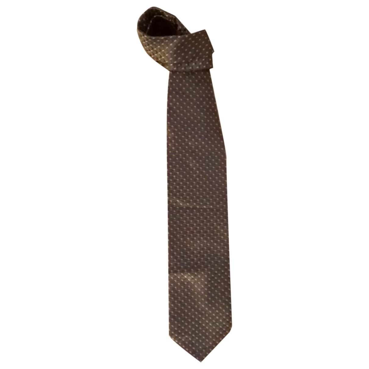 Giorgio Armani - Cravates   pour homme en soie - gris