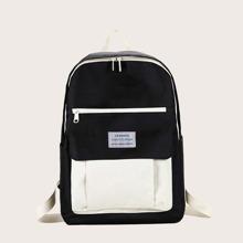 Kids Two Tone Backpack