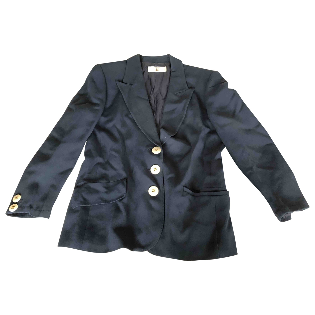 Valentino Garavani \N Blue Silk dress for Women 10 UK