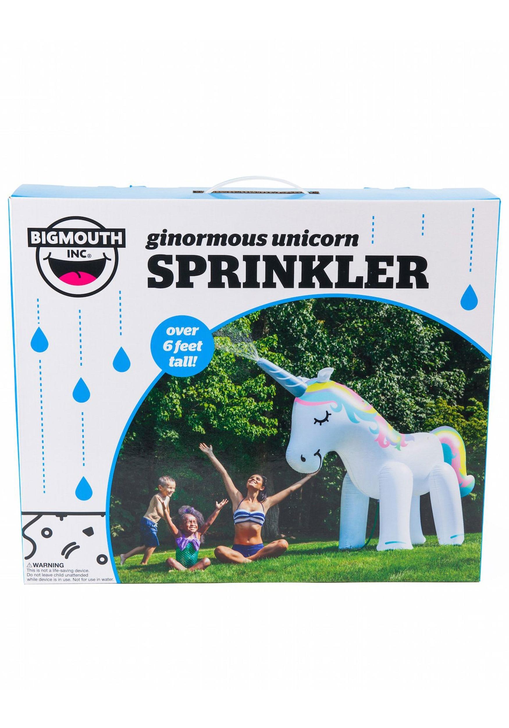 Giant Inflatable Unicorn Yard Sprinkler