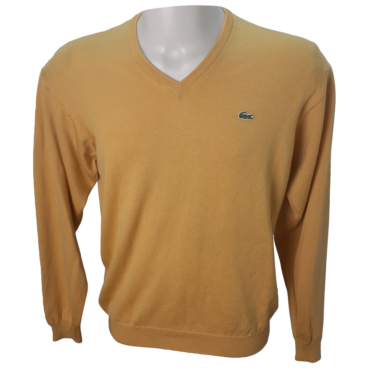 Lacoste \N Pullover.Westen.Sweatshirts  in  Gelb Wolle