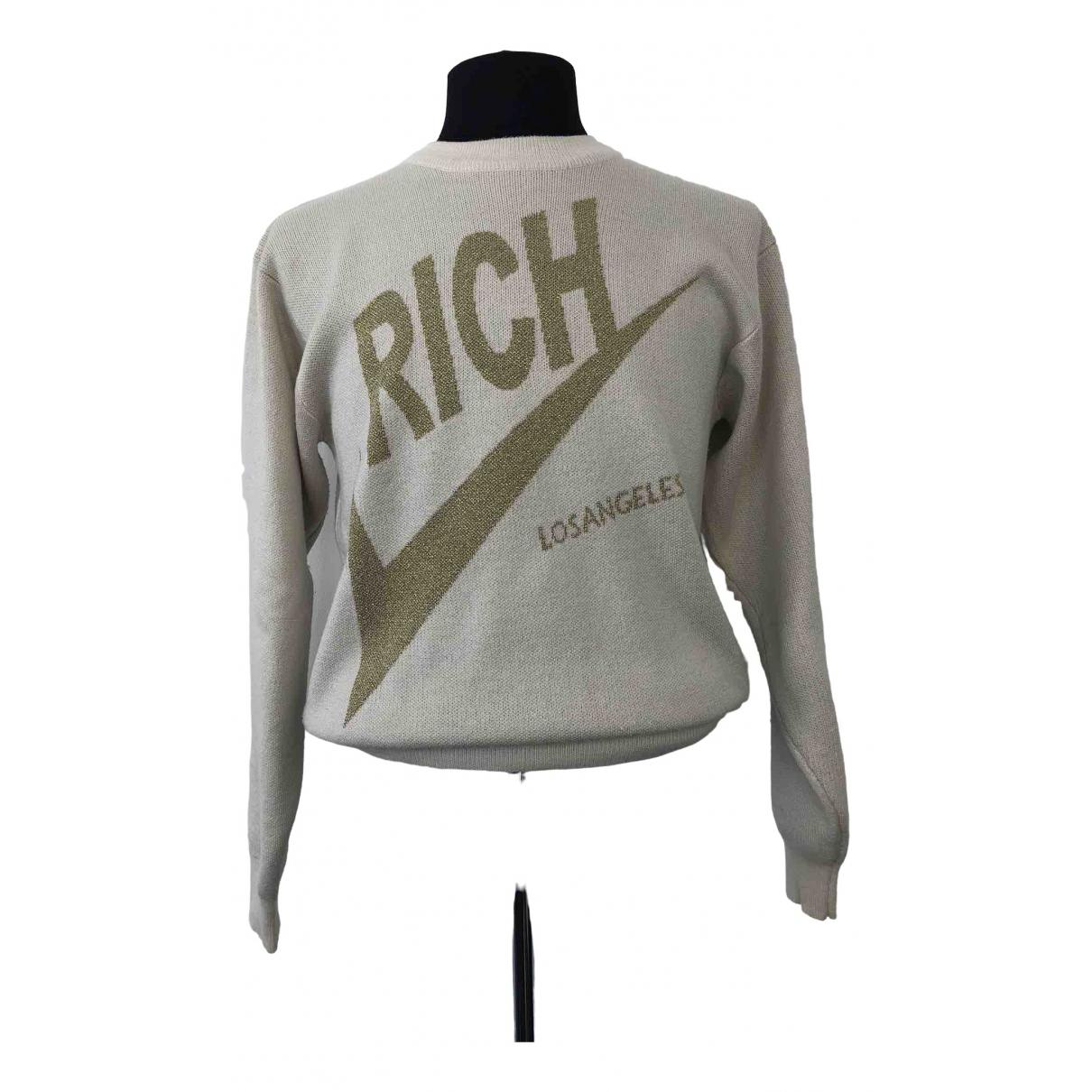 Joyrich \N Pullover.Westen.Sweatshirts  in  Beige Wolle