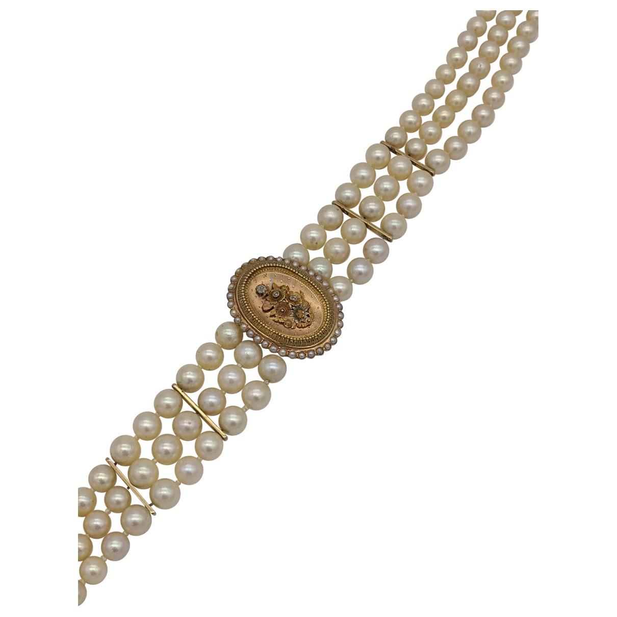 Collar de Oro amarillo Non Signe / Unsigned