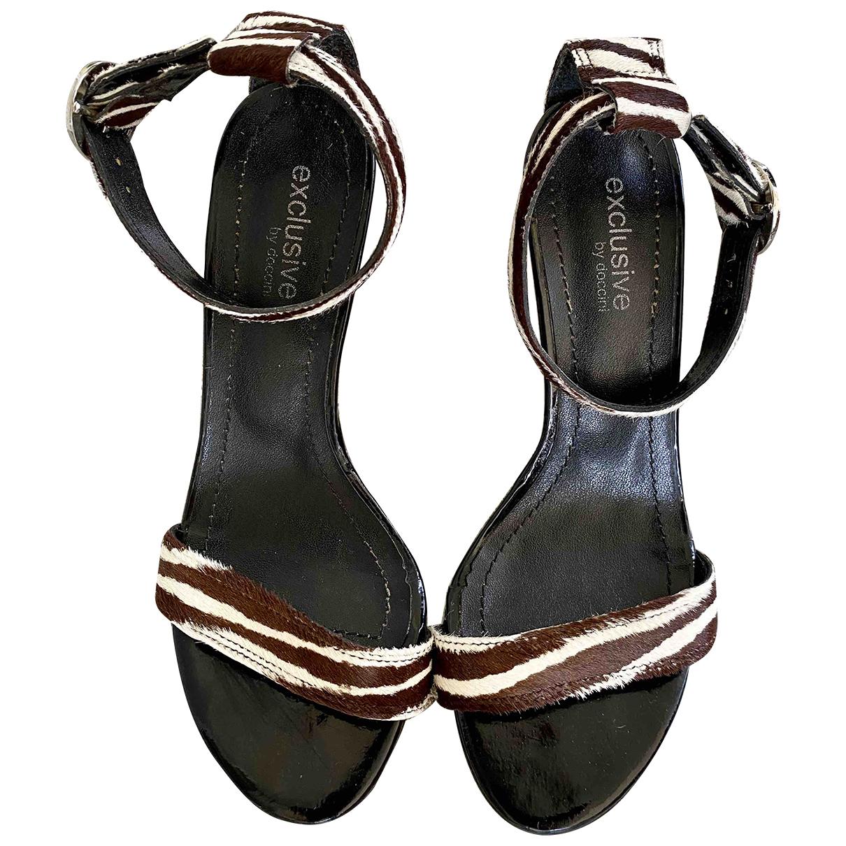 Sandalias romanas de Cuero Diego Dolcini