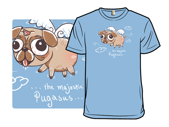The Majestic Pugasus T Shirt