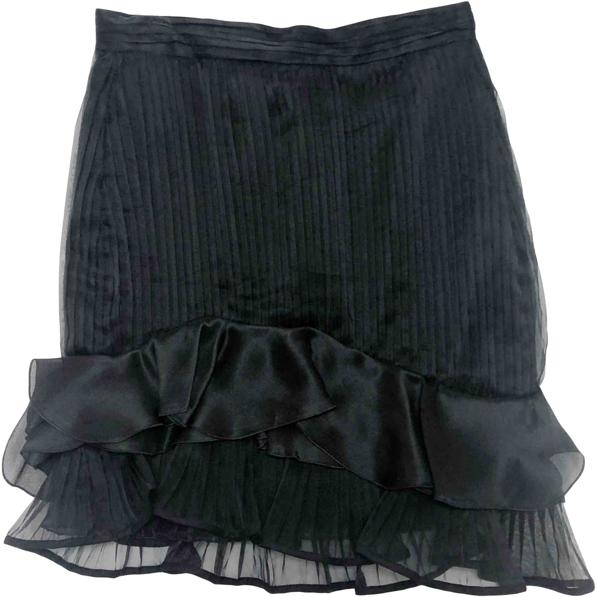 Isabel Marant \N Black Silk skirt for Women 34 FR