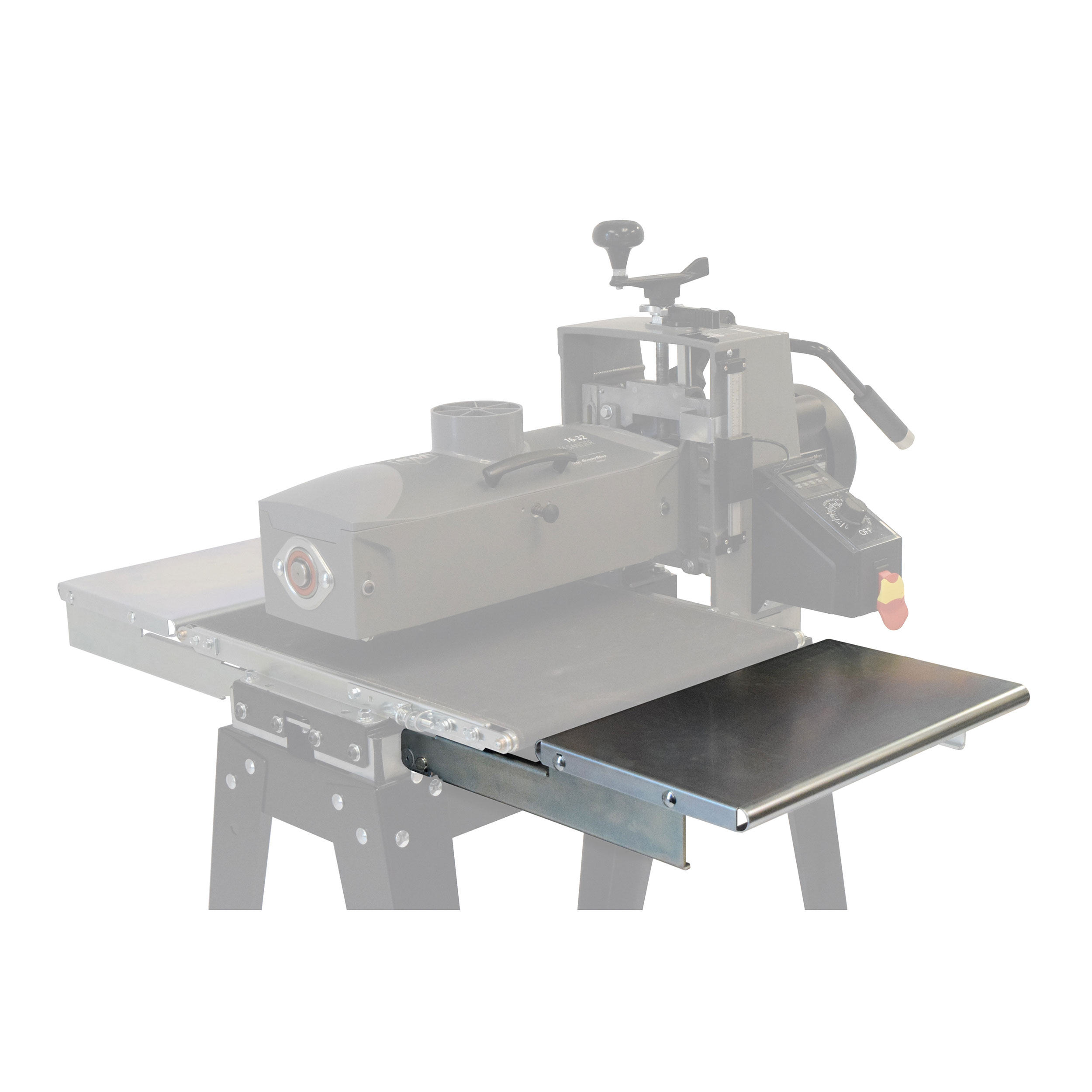 16-32 Folding Infeed/Outfeed Tables