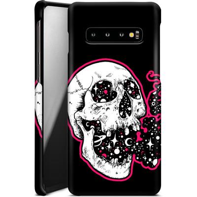 Samsung Galaxy S10 Smartphone Huelle - Space Skull Black von Kreatyves