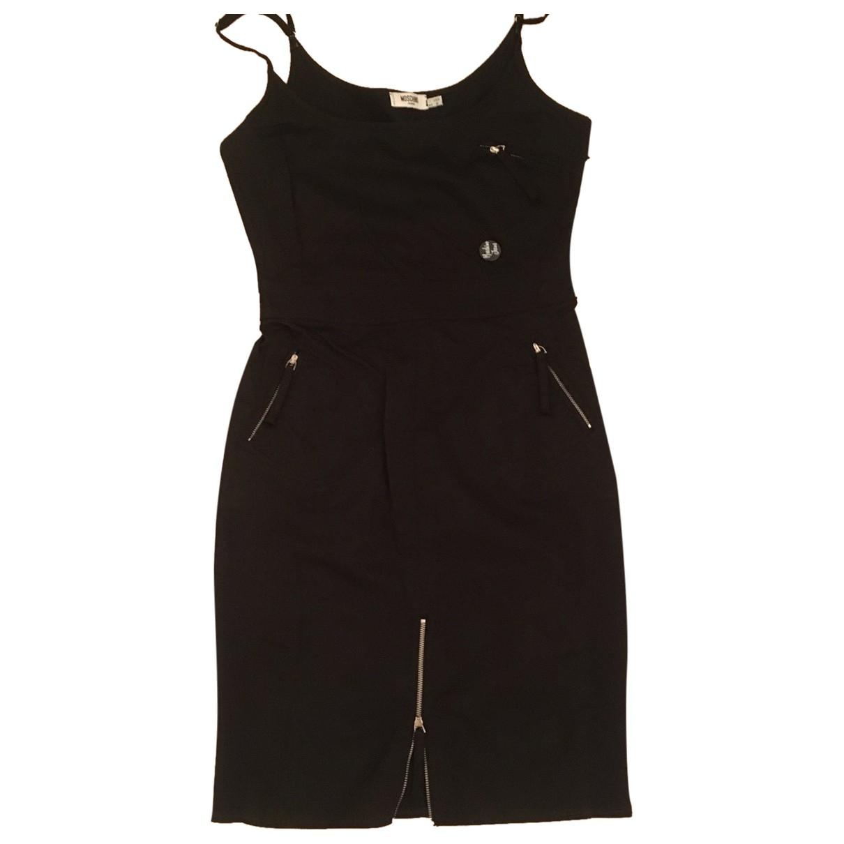 Moschino Cheap And Chic - Robe   pour femme en coton - noir