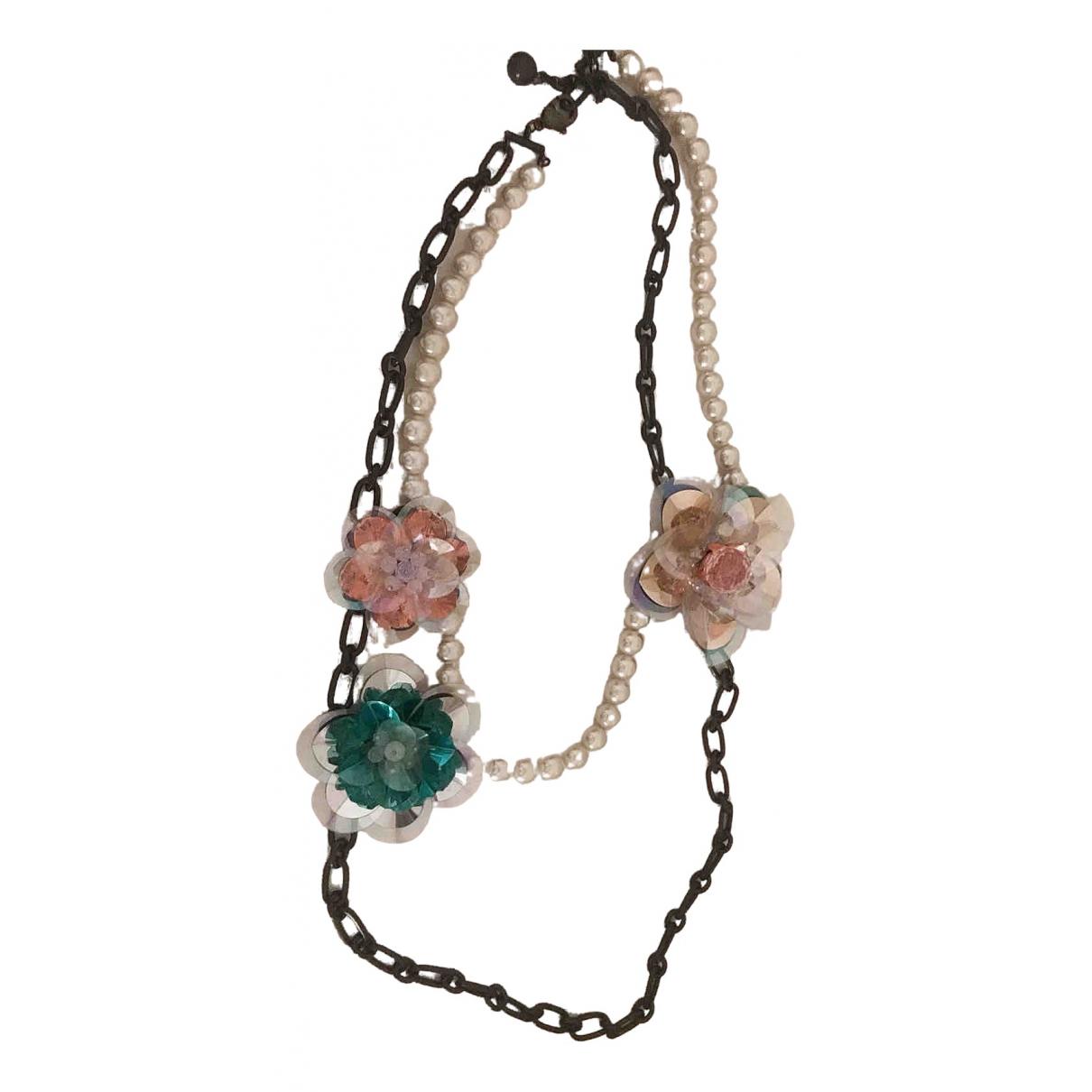 Lanvin For H&m - Collier   pour femme en perles - blanc