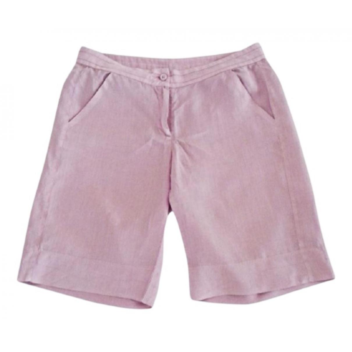 Cerruti - Short   pour femme en coton - violet