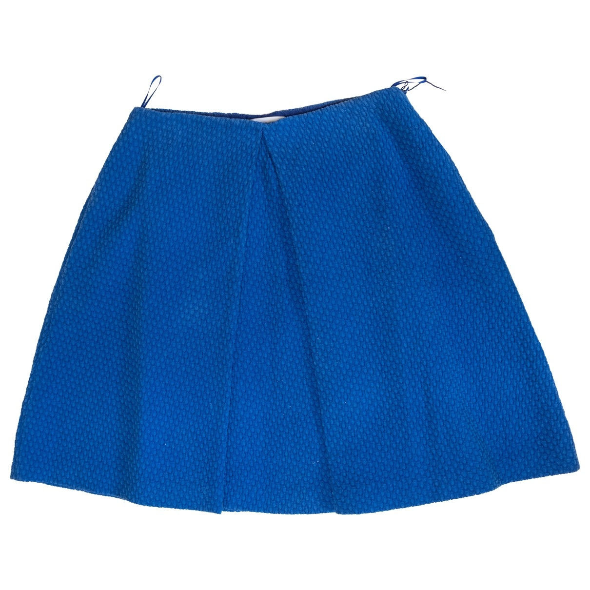 Moschino \N Blue Cotton skirt for Women 40 IT