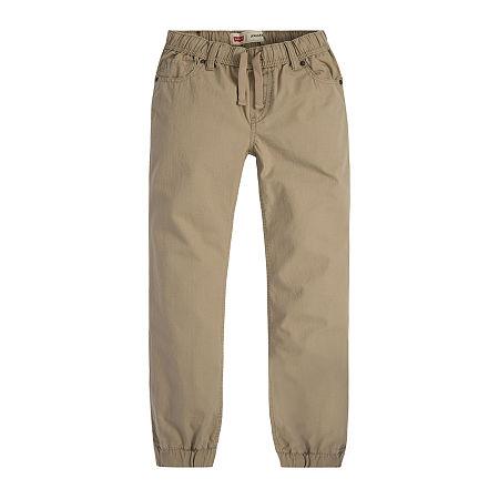 Levi's Ripstop Big Boys Straight Jogger Pant, Small , Brown