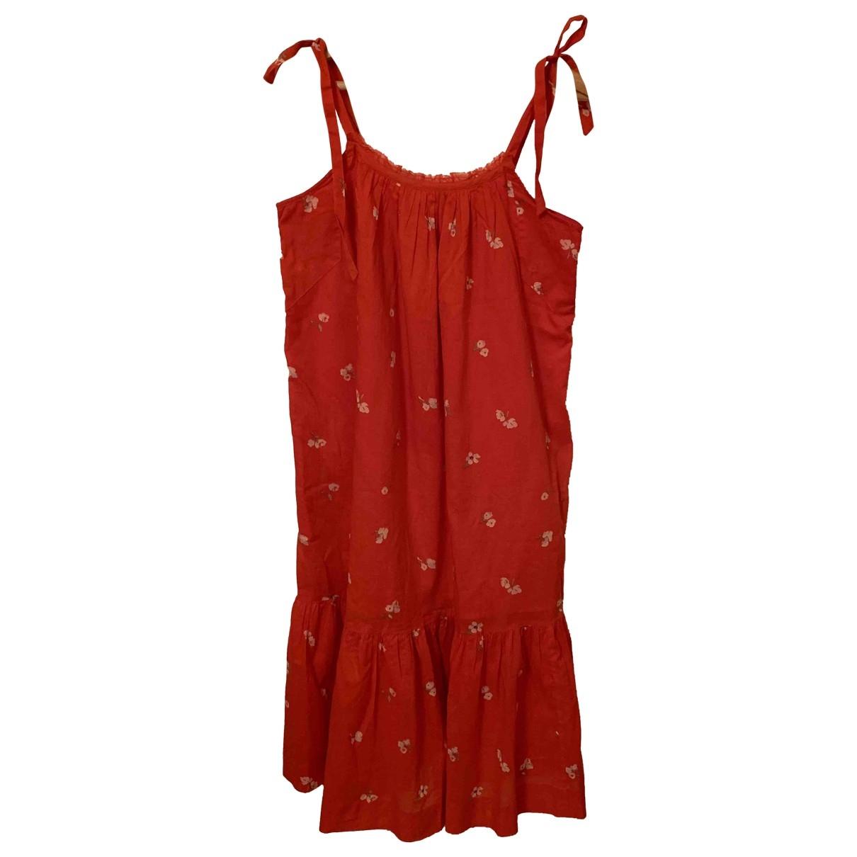 Hatch \N Kleid in  Rot Baumwolle
