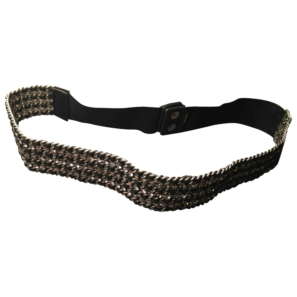 Non Signé / Unsigned \N Silver Metal belt for Women 85 cm