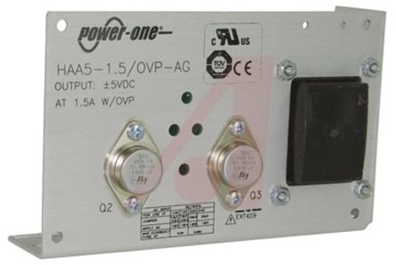 BEL POWER SOLUTIONS INC Embedded Linear Power Supply Open Frame, 100 → 264V ac Input, -5 V, 5 V Output, 1.5A, 15W