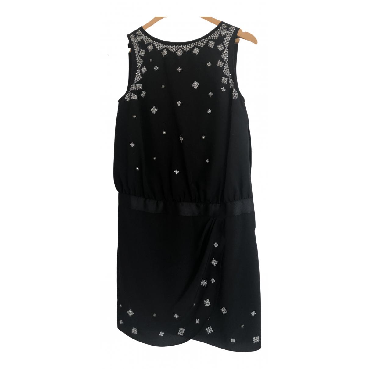 Armani Jeans \N Black Silk dress for Women 40 IT