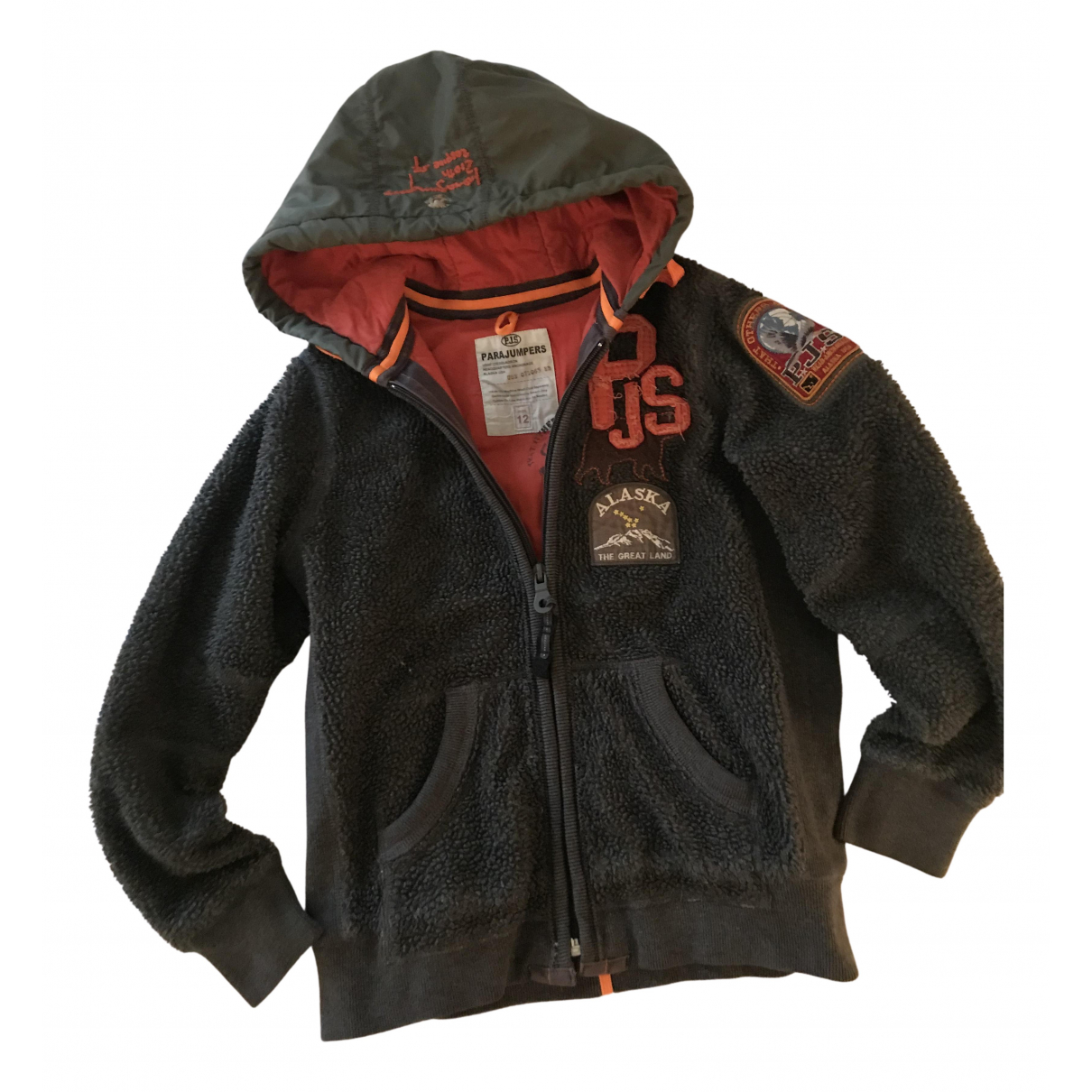 Parajumpers N Grey jacket & coat for Kids 12 years - XS FR