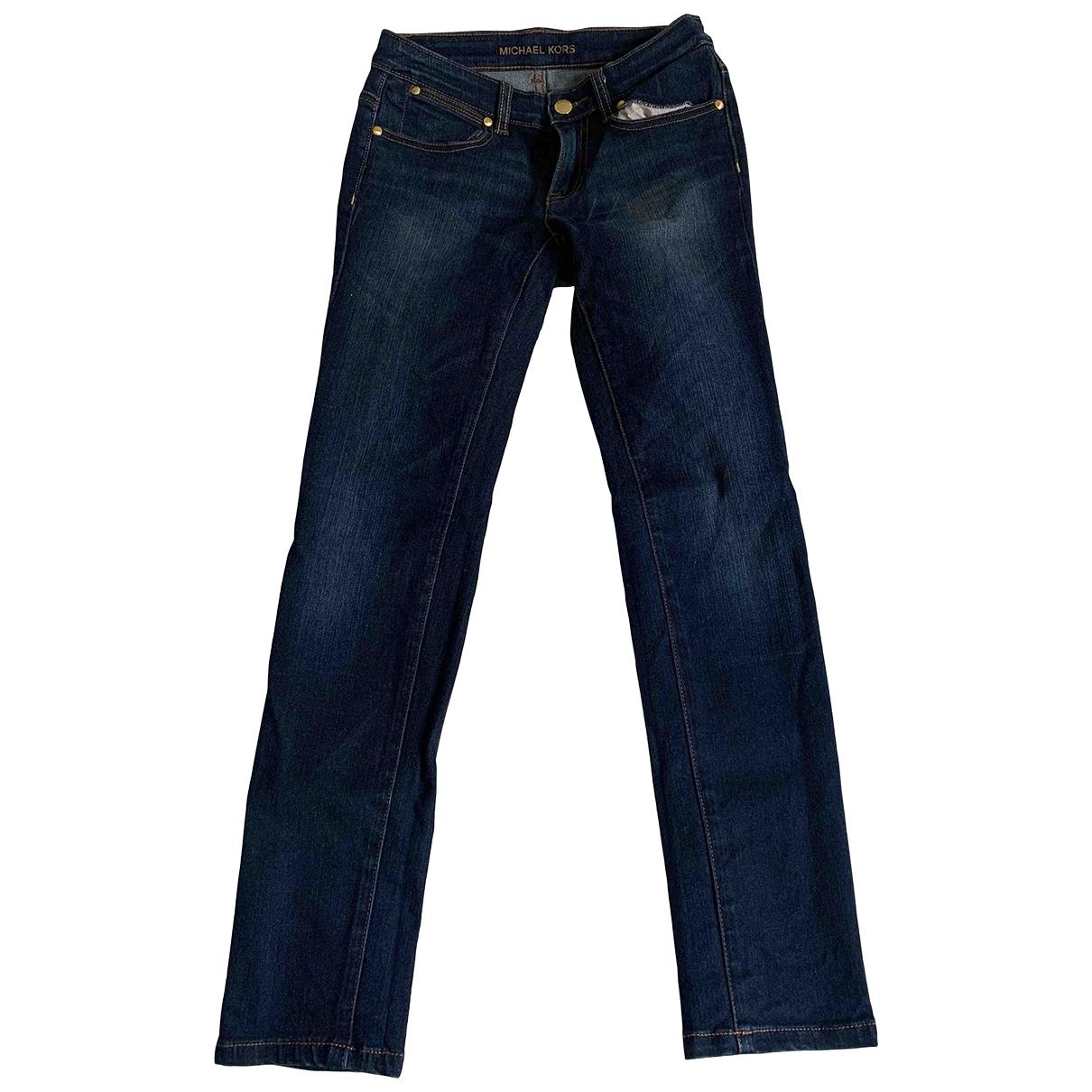 Michael Kors \N White Denim - Jeans Jeans for Women 34 FR