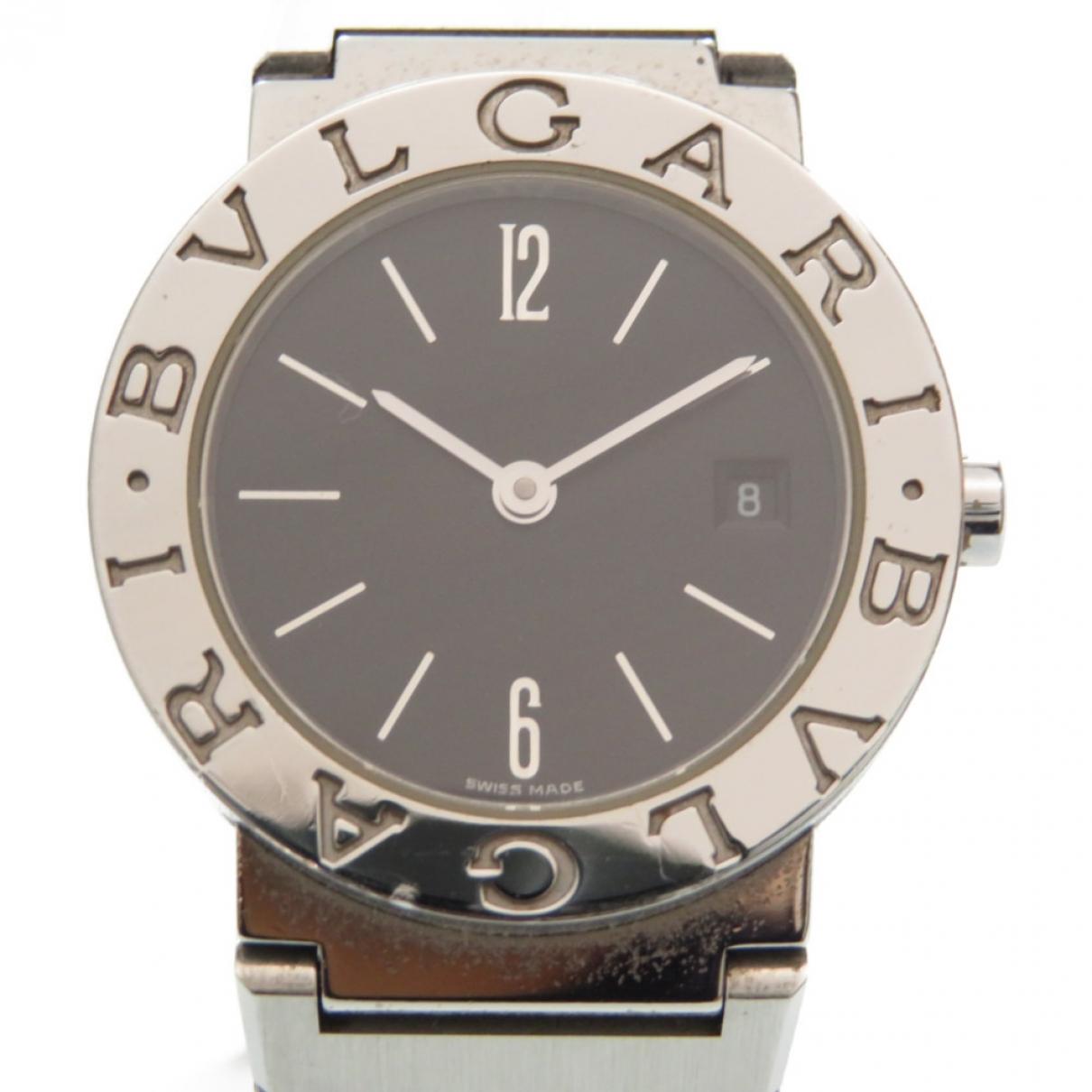 Bvlgari Bulgari Bulgari Uhr in  Schwarz Stahl