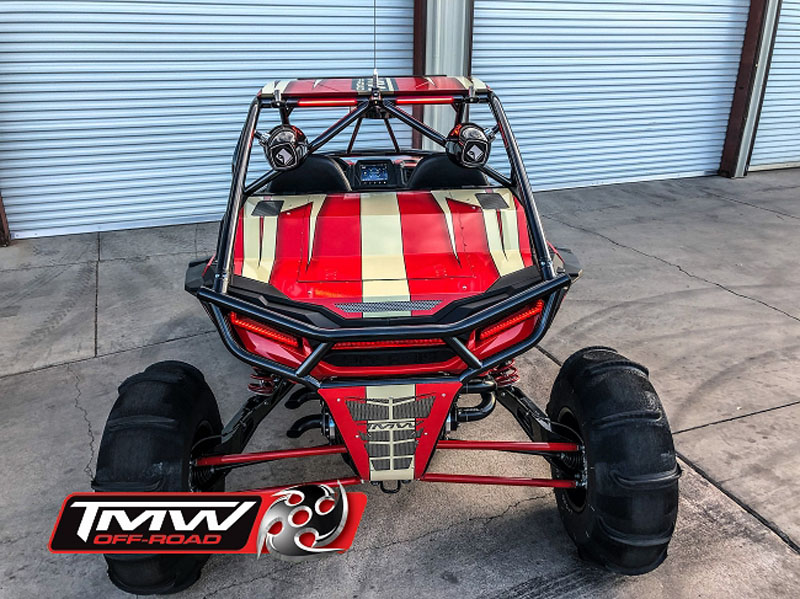 TMW Offroad SSTS-BC2 BUMPER CAGE Sand Slayer Rear Bumper Style Cage Polaris RZR XP 1000   Turbo   Turbo S 2-Seater 2019+
