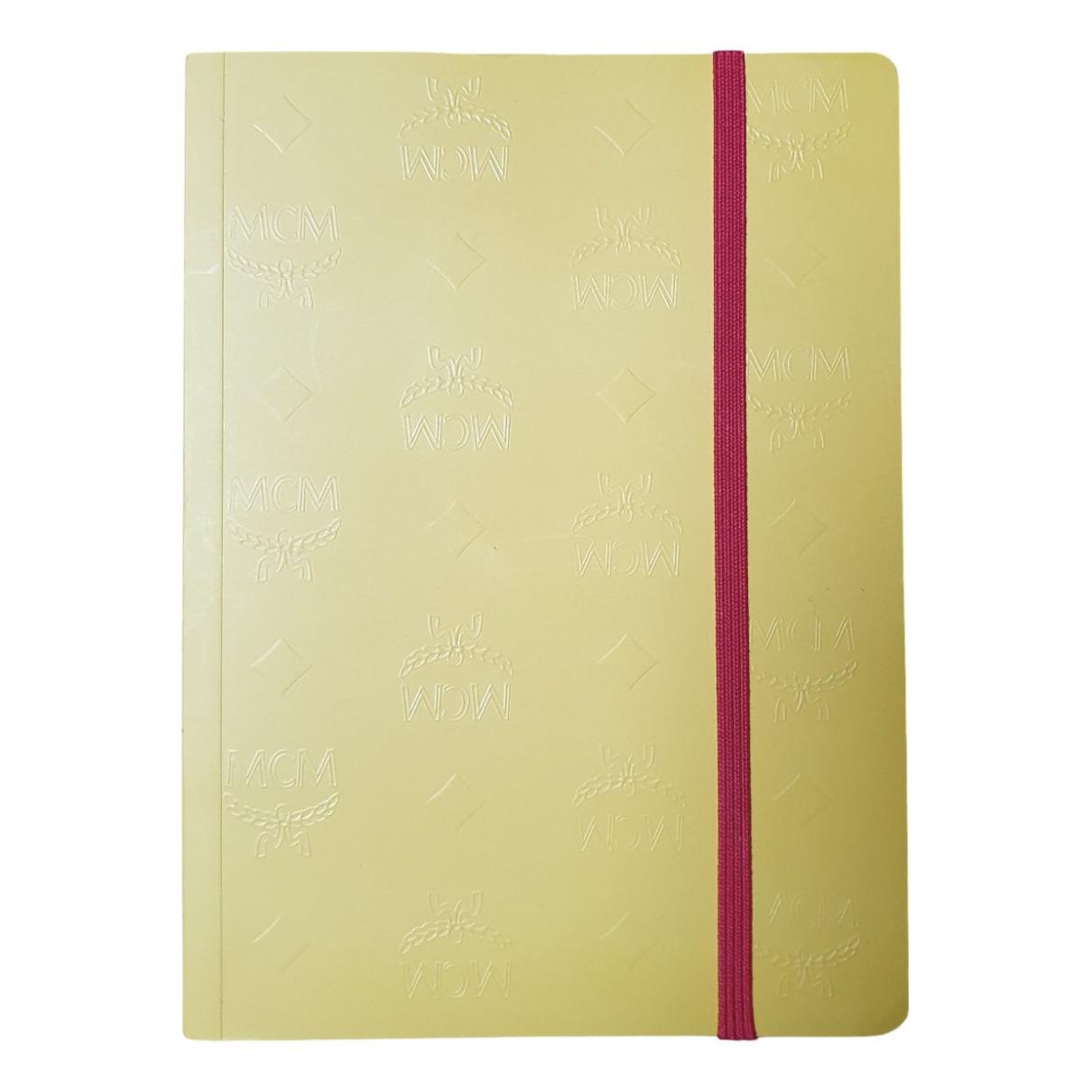 Mcm - Objets & Deco   pour lifestyle en autre - jaune
