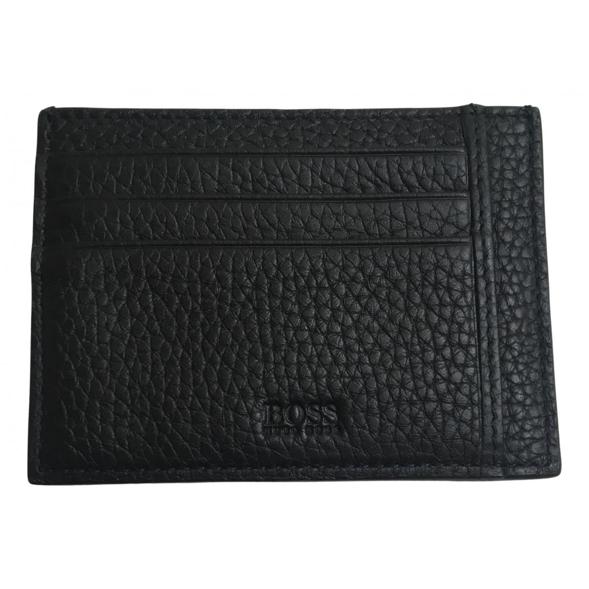 Boss N Black Leather Small bag, wallet & cases for Men N