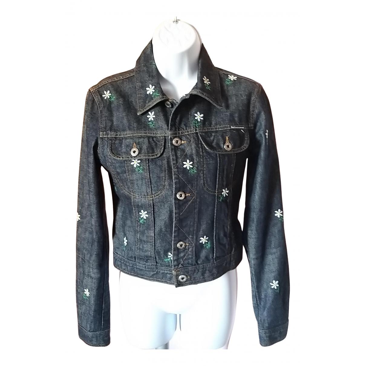 D&g \N Blue Denim - Jeans jacket for Women 40 IT