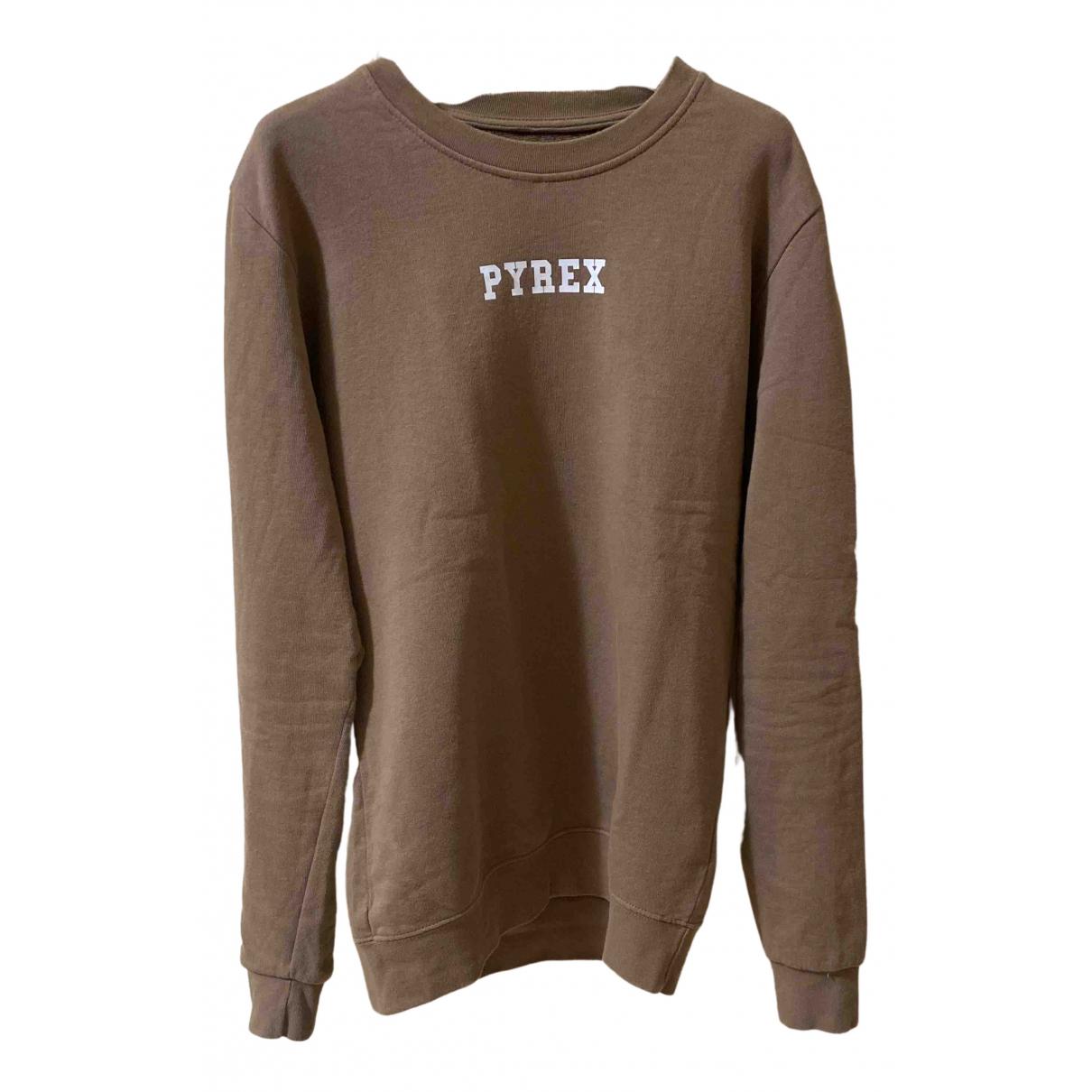 Pyrex \N Pullover.Westen.Sweatshirts  in  Kamel Baumwolle