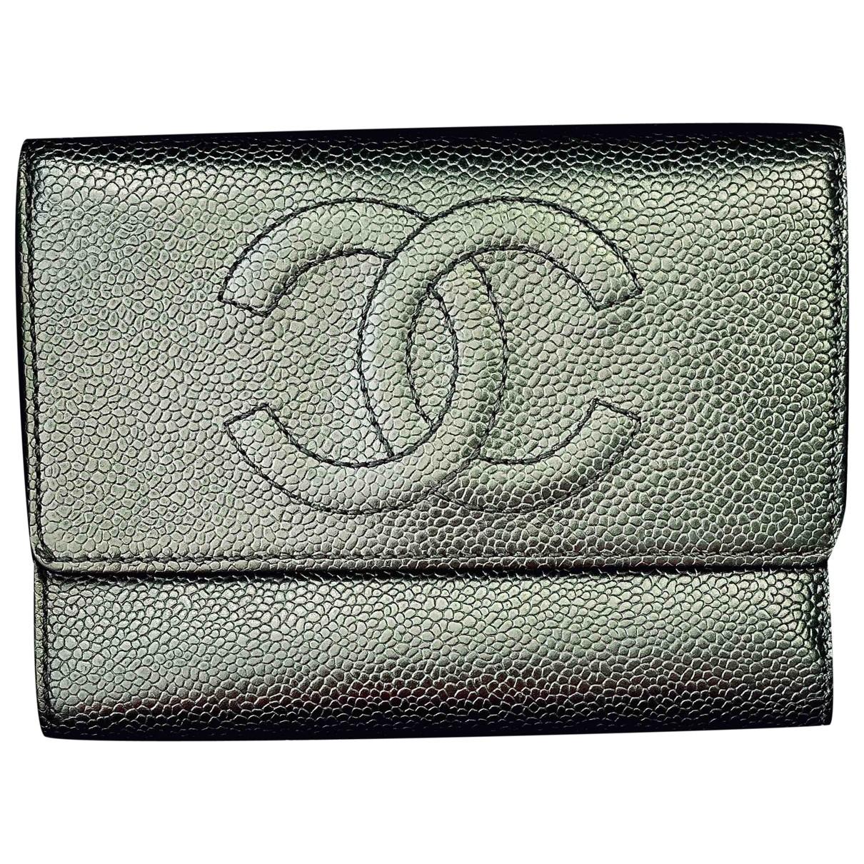 Cartera de Cuero Chanel