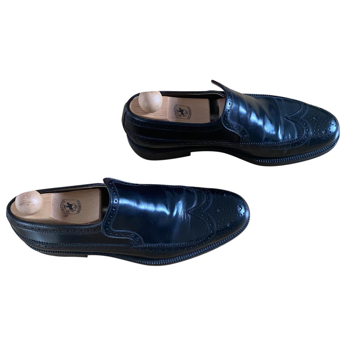 Jimmy Choo \N Black Patent leather Flats for Men 43 EU