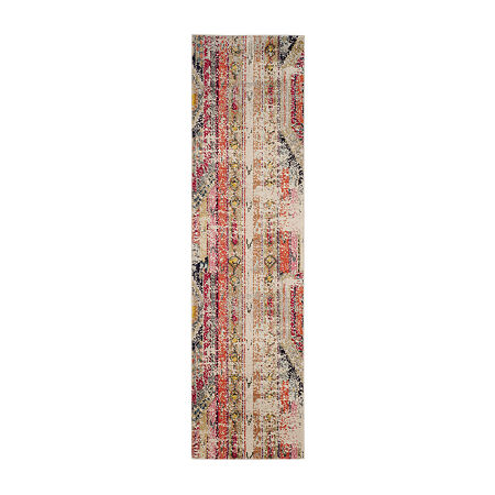 Safavieh Monaco Collection Cedric Abstract RunnerRug, One Size , Multiple Colors