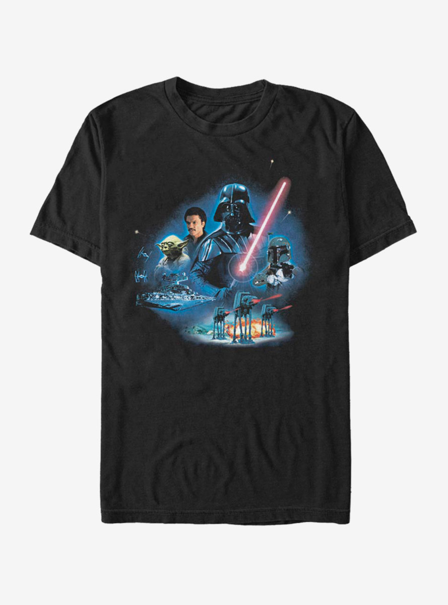 Star Wars Episode V The Empire Strikes Back Characters T-Shirt