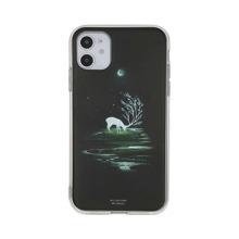 Moonlight Deer Print iPhone Case