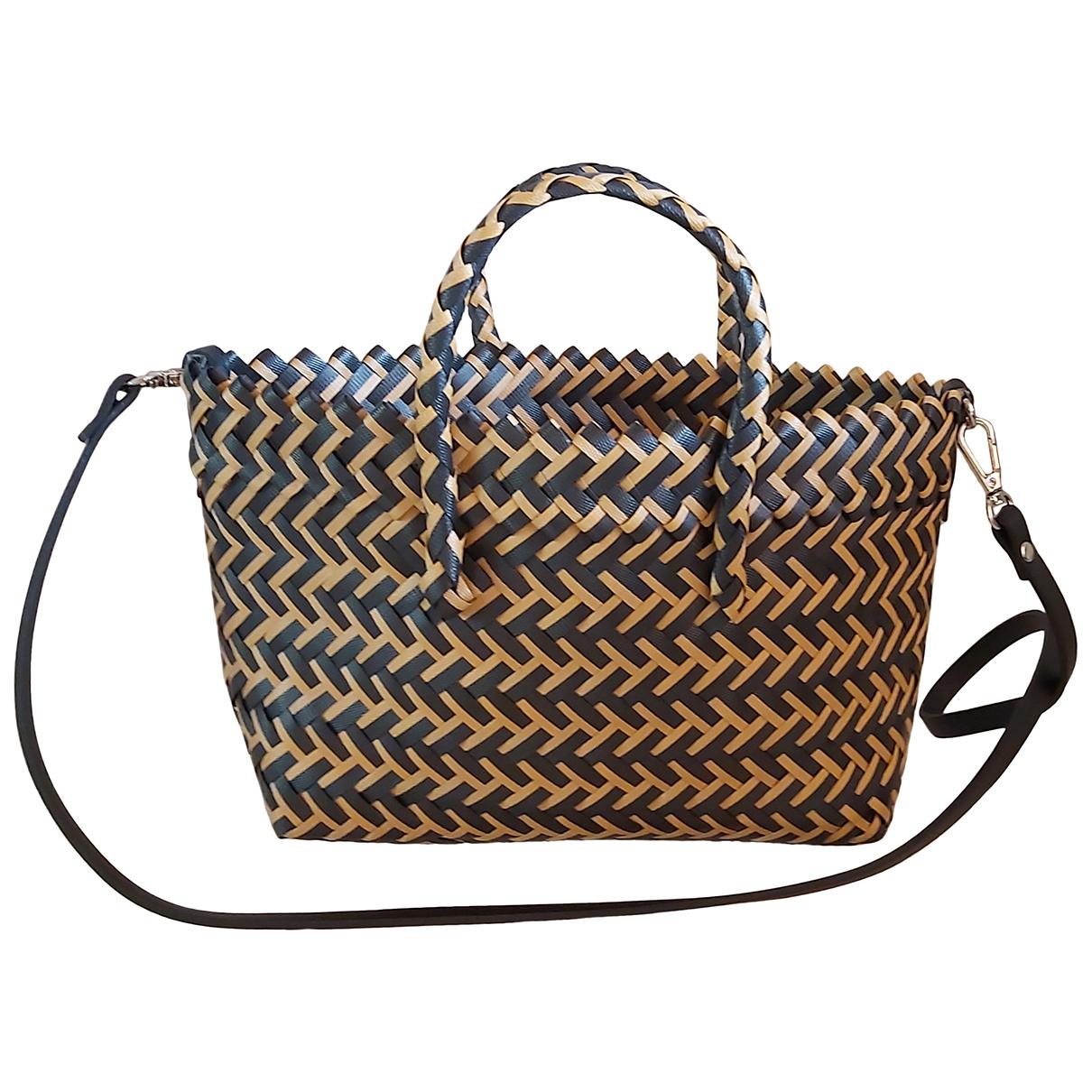 Zara \N Handtasche in  Kamel Synthetik
