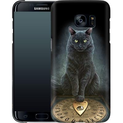 Samsung Galaxy S7 Edge Smartphone Huelle - His Masters Voice von Lisa Parker