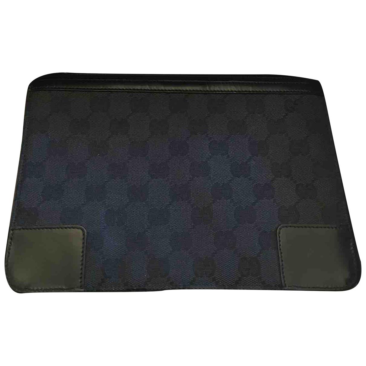 Bolsos clutch en Algodon Negro Gucci