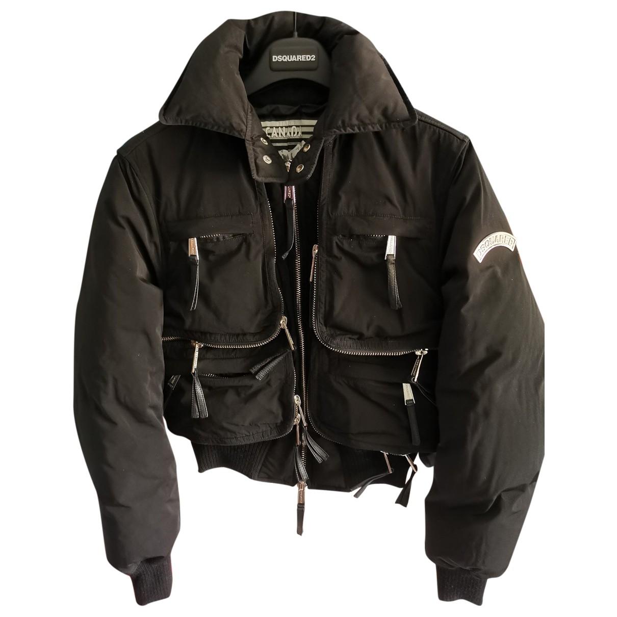 Dsquared2 \N Black jacket for Women 44 IT