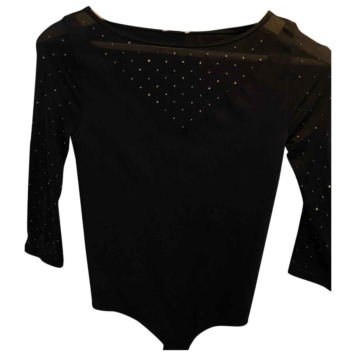Wolford - Top   pour femme en polyamide - noir