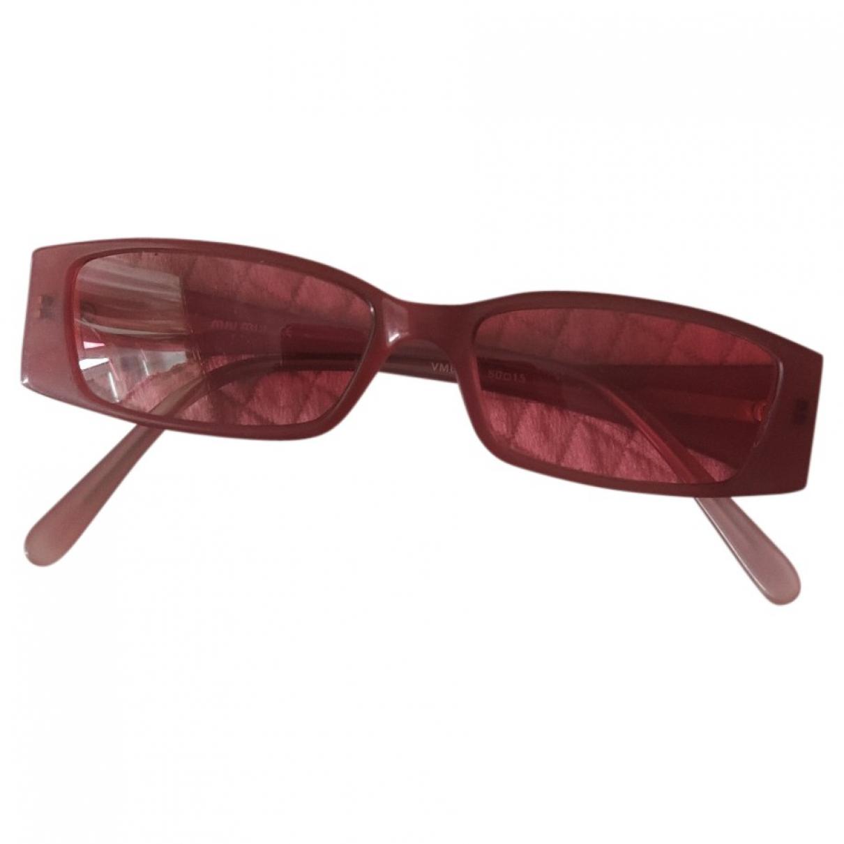 Miu Miu \N Pink Sunglasses for Women \N