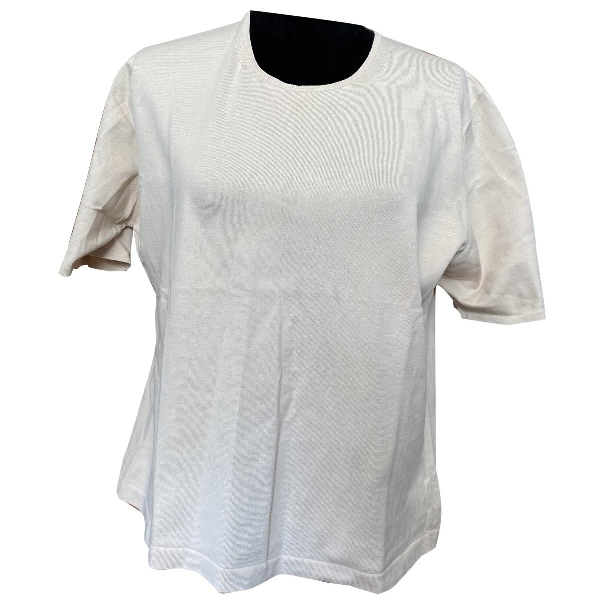 Jaeger - Top   pour femme en coton - beige