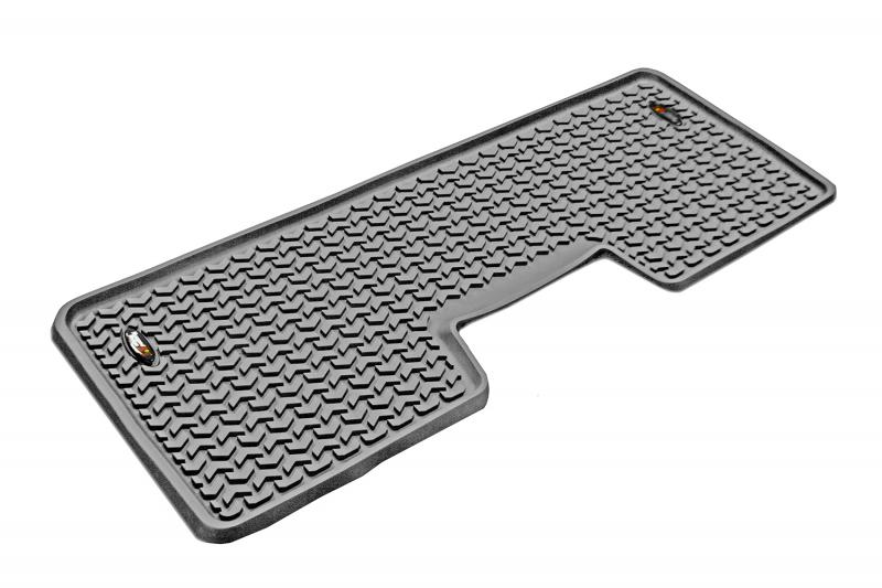 Rugged Ridge 84952.12 All Terrain Floor Liner, Rear, Gray; 09-14 Ford F-150 SuperCrew Ford