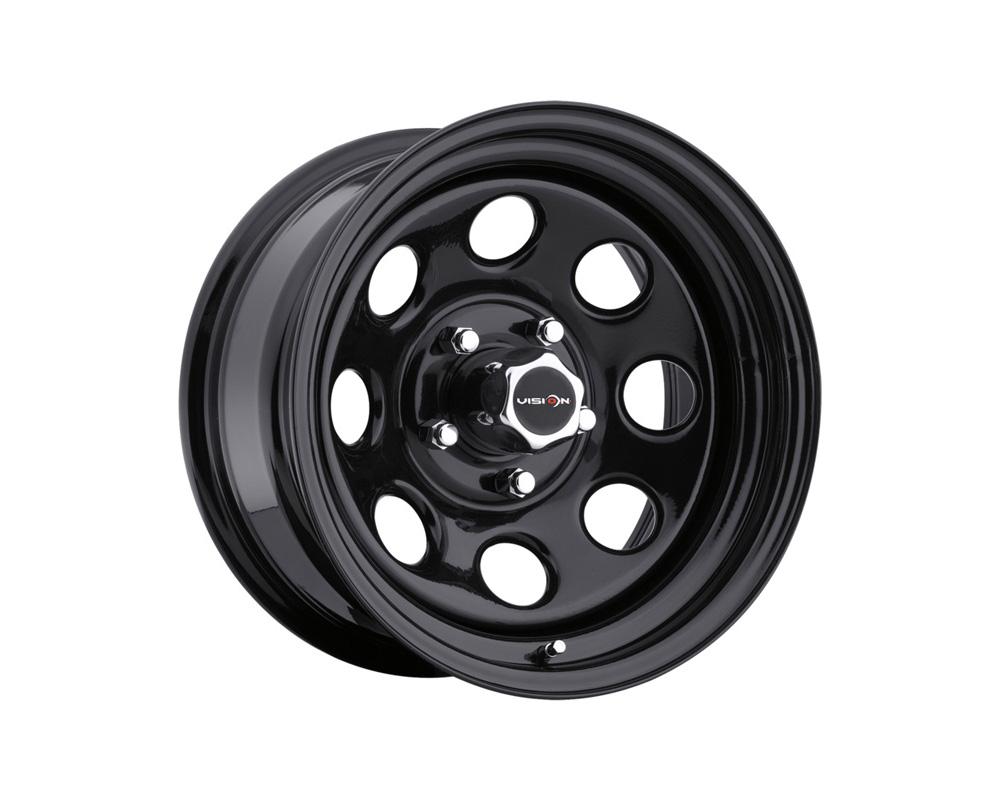 Vision Soft 8 Black Wheel 15x8 6x139.7 -19mm