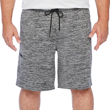 The Foundry Big & Tall Supply Co. Mens Elastic Waist Pull-On Short-Big and Tall, X-large Tall , Gray