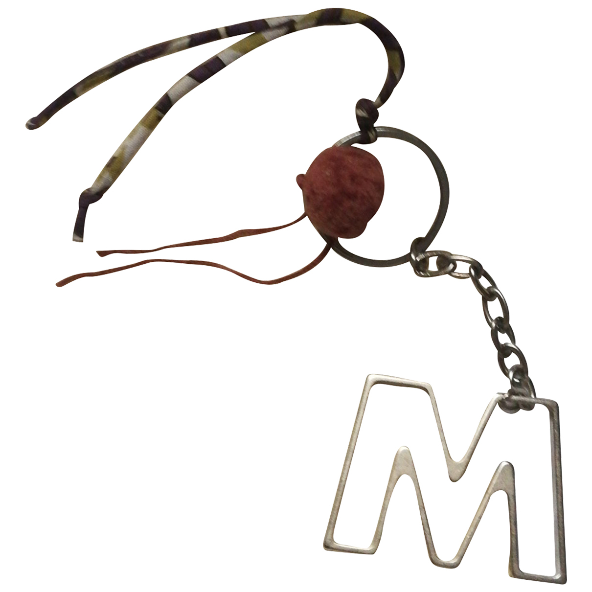 Marni N Silver Metal Bag charms for Women N